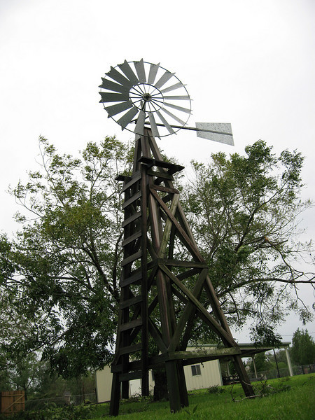 The windmill survived!!
