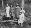 Minnie Dorothy Hutchinson 4th from left -cr