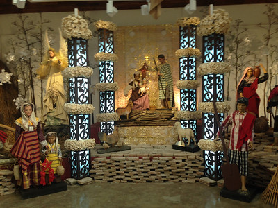 Imee Marco's nativity collection which used to be in her house.