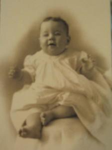Baby Walter, c. 1909?