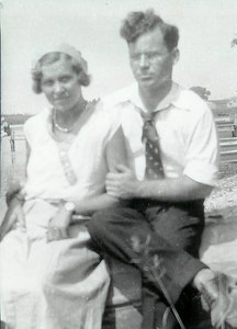 Walter and wife Rose, c. 1934