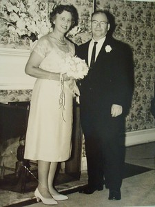 Wedding to second wife Eleanor.