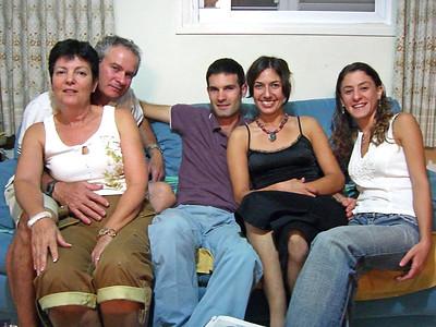 Hadas, Roni, Orr Aner, Ma'ayan, Yaara Aner, in Degania.