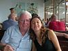 Abba Niv,Yaara Aner,Manta Ray restaurant, Tel Aviv shore.