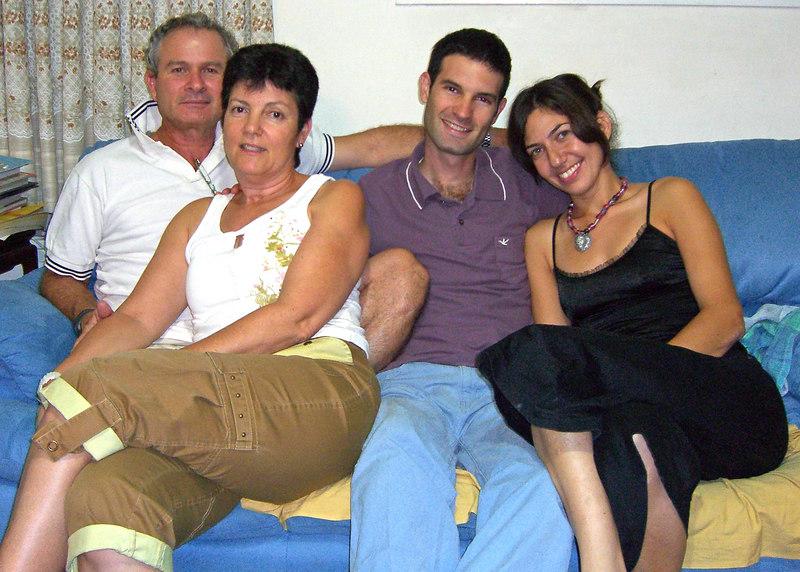 Roni, Hadas, Orr Aner, Ma'ayan, in Degania.