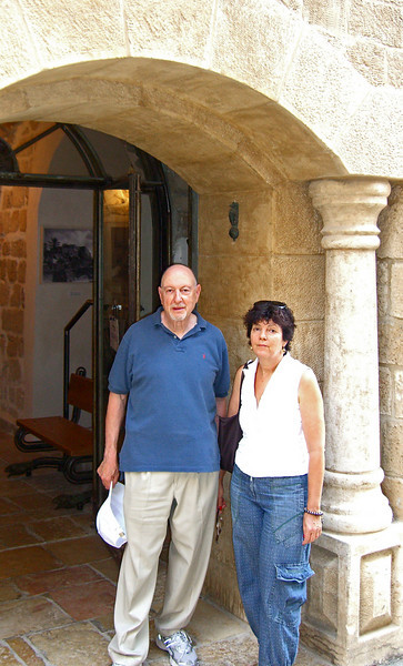 40-Two tourists in Jaffa, OCT 24