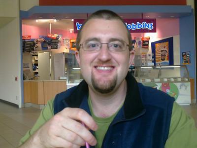 Ian at the Georgian Mall in Barrie - 2010