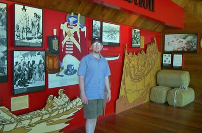 Ian - Nancy Island Museum, Wasaga Beach, ON - 2001