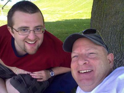 Ian & Glenn - Canada Day Picnic - 2010