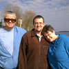 Dad, Ian, Mom - Champlain Park in Orillia, ON - Fall 2010