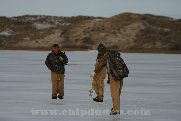 Ice Fishing, Valentine, NE  2007