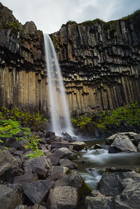 Svartifoss (foss is waterfall in icelandic if you haven't figured it out yet!)