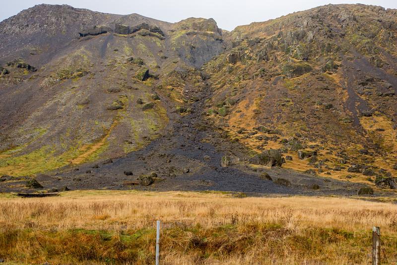 Ridgeline just north of Selfoss, off of highway 35.