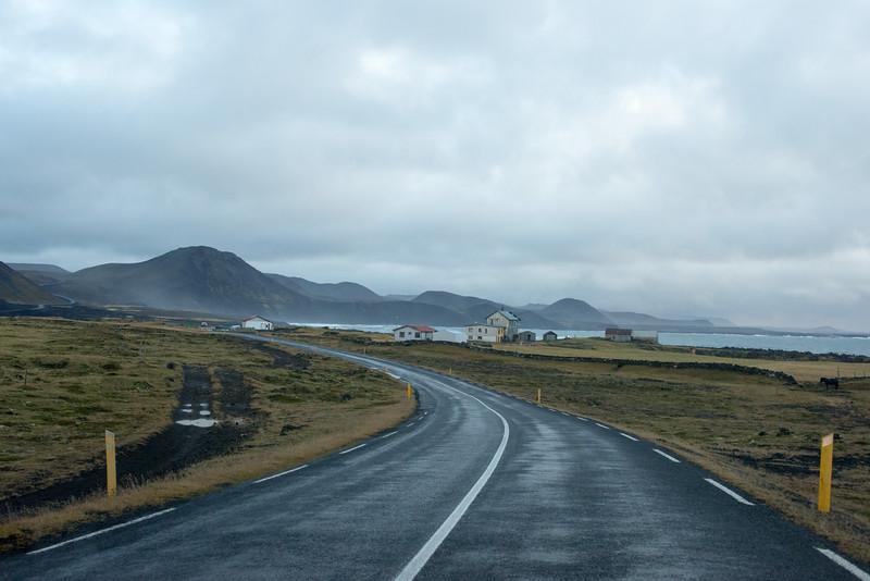 Leaving Grindavik heading east on highway 427.