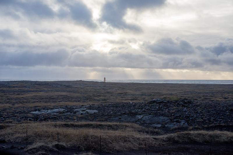 Lighthouse near Þorlákshöfn.