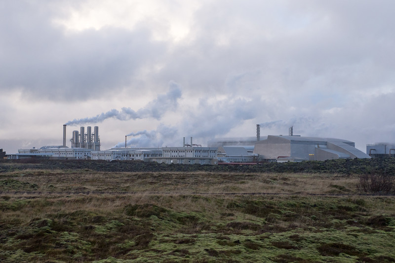 The Svartsengi Power Station produces both electricity and domestic hot water for the Reykjanes peninsula.