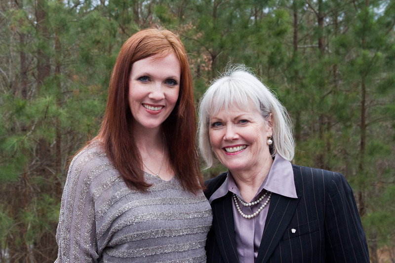 Jennifer Fulwiler, my niece and Claudia Graham, my sister