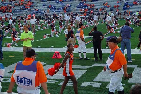 Illini Cheerleading & Football
