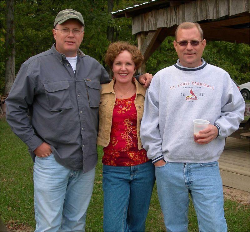 Harry Whitlock, Natalie Smigel, and Tim Austiff (cousins)