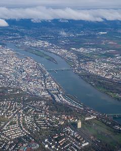 Arriving in Frankfurt, Germany
