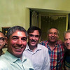 The gang gets together (most of us).  Aasim, Titu, Saad and Awais