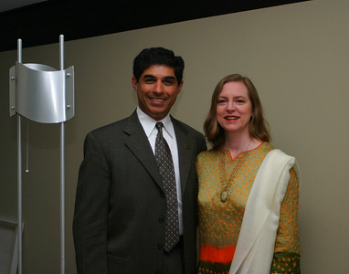 Linda and I leaving for the Technical Fellowship banquet at Boeing.