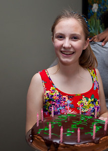 Carolyn came with a great recipe for the Harry Potter cake that really was delicious.
