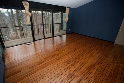 Finished floor.