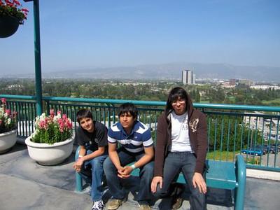 Imad, Zeryab and Daanyal.
