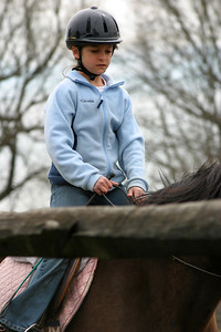 Anisa riding at her new stable - Ashford Farms