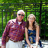 Anisa and her Grandad in Philadelphia.