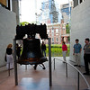 The Liberty Bell.  I was underwhelmed by the history of the bell.  Really don't understand why a poorly made bell became so important when it wasn't even a key feature in the war of independence.