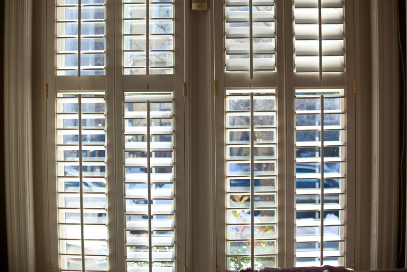 The front shutters.