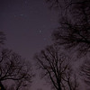 a night time picture to capture meteor showers.  There are about 80 of those images but no luck, although we did see a few.  We figured we needed a longer exposure time than the 10 seconds we were generally using.