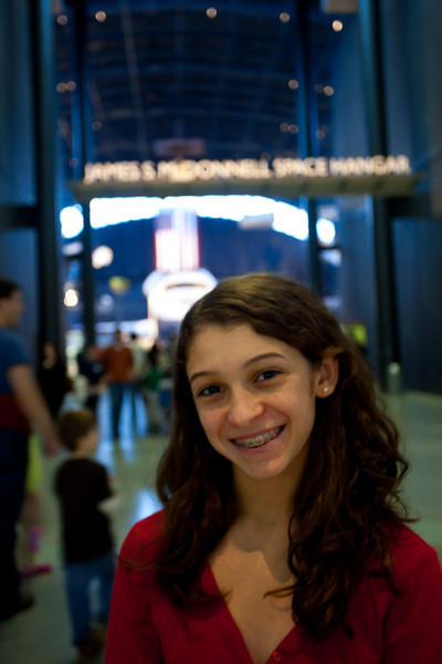 Anisa at the Smithsonian.