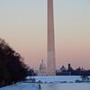 DC at dusk.