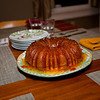 Tanya, Jeff and Anisa made this cake.