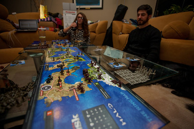 A game of universe domination with Halo Risk.