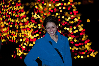 By the lights in Longwood.