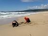 May 2011--at Half Moon Bay beach