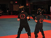 Elias at Kung Fu - extra sparring class, Nov 09