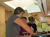 Kitchen crew hard at work