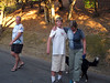 Evening family walk
