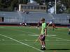 Denali leaving the lacrosse field