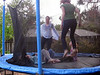 Lots of trampoline action
