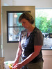 July, 2012--Elias turns 11: Frannie works on celebratory dinner