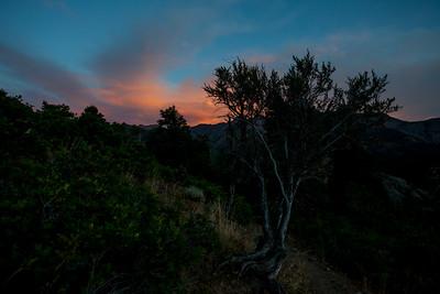 Sunset at Mill B North.