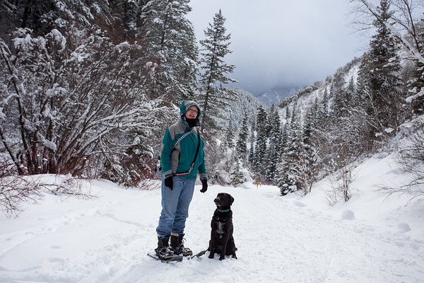 Snow Shoeing in Millcreek Canyon