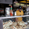 Dungeness Crab at Fisherman's Wharf in SF.
