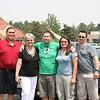 Bert, Mom, Tom, Timber, and Bob.